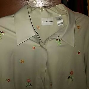 Size 18 zipper front jacket by alfred dunner